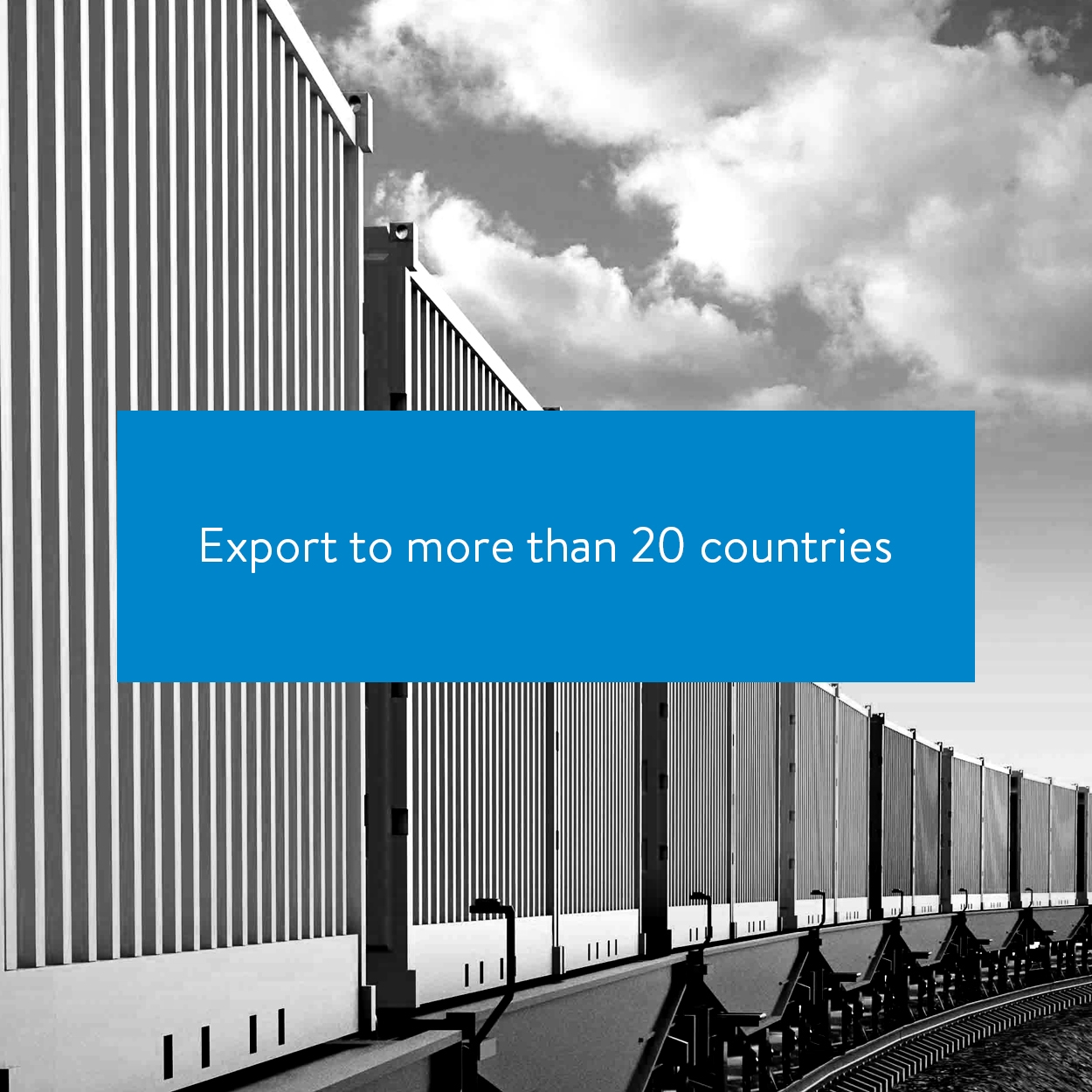 Export to more than 20 countries